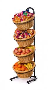 Crisp Display Stand Magnificent Wicker Basket Display Stands DWD Retail Display