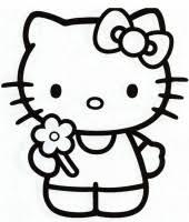 Disegno Di Hello Kitty Cose Per Crescere