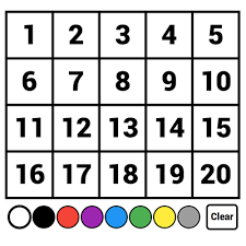 Hundreds Chart Class Playground