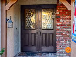 X Exterior Double Doors  Foot Todays Entry Doors - Exterior door glass insert replacement