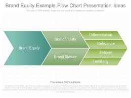 Custom Flow Chart Custom Brand Equity Example Flow Chart Presentation Ideas