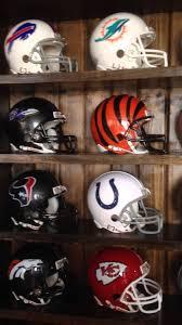 riddell nfl mini football helmet display case