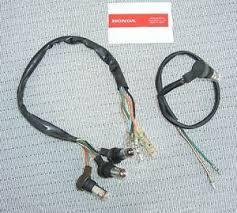 teleflex tach wiring harness on popscreen honda cb350 cl350 sl350 tach speedo gauge lamps wire harnesses bulbs nice