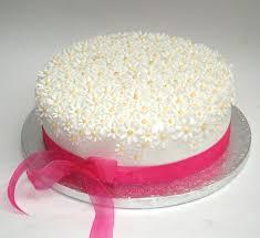 Simple Birthday Cake Decorating Ideas Cakes Pinterest Easy Flower