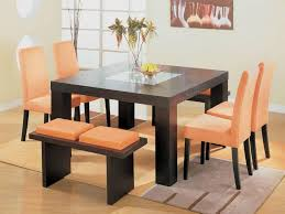 glamorous square dining table with bench beautiful room tables kitchen the for 4 8 seater home design