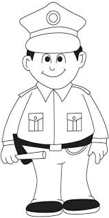 Police Coloring Pages For Kids Coloringstar