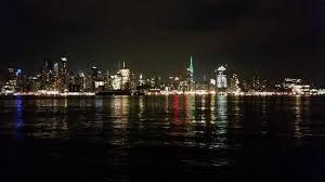 Chart House Hoboken Nj Night Falls On Manhattan As Seen From The Chart House