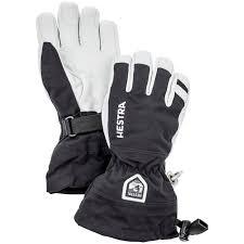 hestra army leather heli ski jr gloves big kids