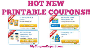 Check Out These HOT NEW Printable Coupons: Arm & Hammer, Quilted ... & CHECK THIS OUT!! Adamdwight.com