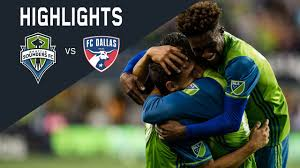 Highlights: Seattle Sounders FC vs FC Dallas - YouTube