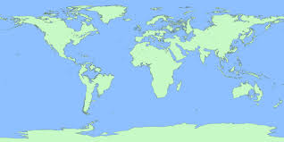the world if sea level rise  m also see how continents will