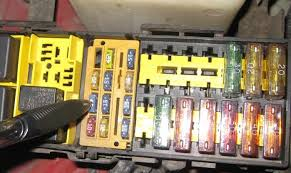 o2 sensor high voltage and heater circuit malfunction wtf?! 97 Jeep Wrangler Fuse Box check this unmarked 15 amp fuse, it's in the box behind the battery if it is blown & you replace , then disconnect the negative battery terminal for a few 97 jeep wrangler fuse box cover