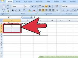 image titled use the sum function in microsoft excel step 1