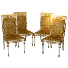 Set Of 4 Gianni Versace Chairs For Sale
