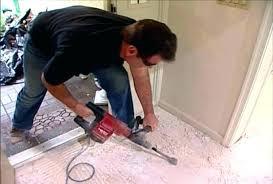 remove tile adhesive wood floor vinyl