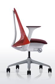 innovative office furniture. Fabulous Modern Ergonomic Office Chair Innovative Chairs Design With Red Back Rest Ideas Furniture :