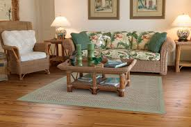 seagrass seacoast rug with sage linen border