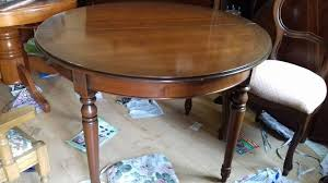 round dining table victorian style mahogany extendable carved leg 175 270m