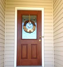 painted my front door to look like wood