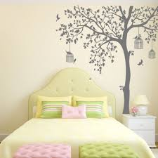 bird cage tree nursery wall stickers removable vinyl wall decal kids inspiration of huge wall decals