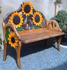 horses and <b>sunflowers</b> | Hand carved from pine, the range of chairs ...