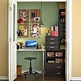 office closets. donu0027t forget to add inspiration boards the wall of your closet office closets