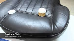 Restoring Antique Leather Repairing Scratches Scuffs In Leather Youtube