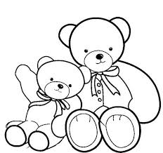 Small Picture Two Beautiful Teddy Bear Coloring Page Two Beautiful Teddy Bear