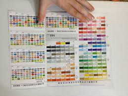 Blick Studio Markers Color Chart Nattosoup Studio Art And Process Blog Alcohol Marker Review