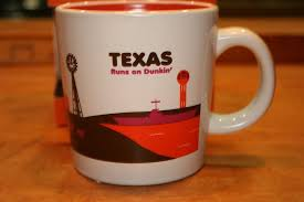 Thank goodness it's free donut wednesday *every wednesday dd perks members get one free donut with any drink purchase for a limited time. Texas Dunkin Donuts Coffee State Mug Destinations 2012 Large 14 Oz Alamo Oil Rig Dunkin Donuts Coffee Dunkin Donuts Mugs