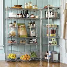 contemporary kitchen wire storage racks on in shelving for home intended designs 4