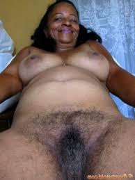 Bbw black hairy granny