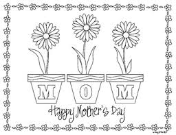 Small Picture Mothers Day Flowers Coloring Pages GetColoringPagescom