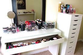 good makeup organizer ideas with diy makeup organizer