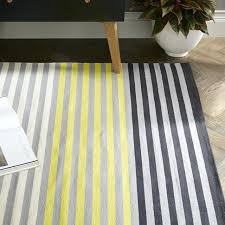 stripe cotton rug black sun yellow dhurrie rugs india beautiful whole made cotton rugs