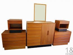 used teak furniture. Bedroom: Vintage Teak Bedroom Set Antique Danish Modern With Regard To Dazzling Used Furniture Applied Your Home Idea E
