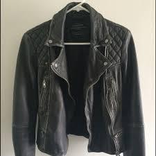 all saint s cargo leather jacket