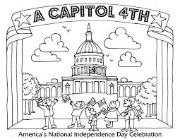 Small Picture Coloring Pages Fourth Of July Coloring Pages A Capitol Fourth Pbs