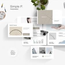 Freepiker Simple P Powerpoint Template