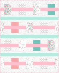 April   2014   The Plaid Portico & Modern Gem quilt by Vanilla Latte quilts using Pop Rox by Carol Van Zandt Adamdwight.com