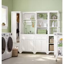 Martha Stewart Laundry Cabinet Martha Stewart Living 36 In H X 27 In W X 24 In D Wood Laundry
