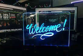 Electronic Light Board Led Lighting Write On Board Sign Light Writing Led Signs