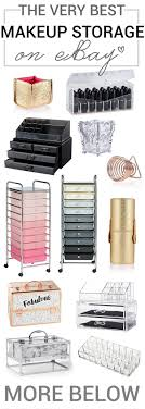 All the makeup storage solutions you could possibly want to find on eBay,  all in