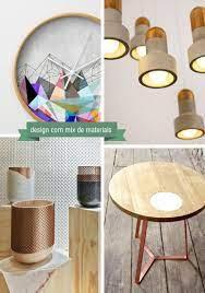 Descubre nuestros productos de diseño únicos, elaborados de forma artesanal. Design De Objetos Com Mix De Materiais Remobilia Com Patricia Melo