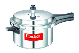 Prestige Kitchen Appliances Prestige Ppapc5 Popular Aluminium Pressure Cooker 5 Liters