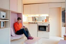 spacesaving furniture. London\u0027s \u0027smallest House\u0027 Uses Flexible Plywood Furniture To Maximize Space Spacesaving