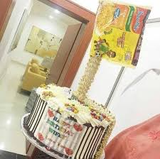 Viral Is This Indomie Cake An Act Of Culinary Genius Or An Edible