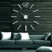 oversized modern wall clock huge modern wall clock oversized modern wall clock clocks fair white large