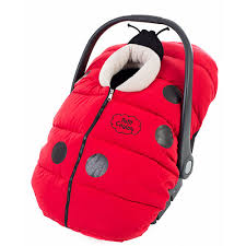 petit coulou car seat cover coccinou red and black petit coulou babies r us