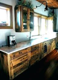 Rustic Off White Kitchen Cabinets - Kitchen Appliances Tips ...